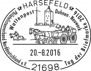 Harsefeld Tag der Briefmarke 2016